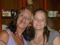 My cousin Chasity from Georgia and I - summer of 2011